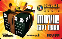 $250 Regal Cinemas Gift Card