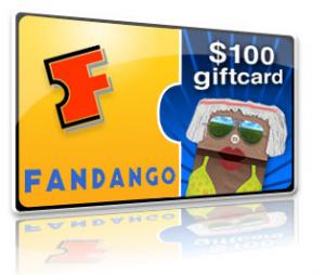 Fandango $100 Gift Card for 2009