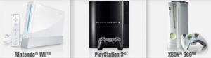 XBOX 360 vs. PS3 vs. Nintendo Wii